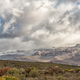 Fynbos and snowy mountain landscape seen from the Kromrivier Pass - PhotoDune Item for Sale