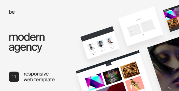 Be - Responsive HTML5 Agency Template - Portfolio Creative