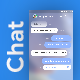 Modern Chat & Group Chatting App UI | WooChat - GraphicRiver Item for Sale
