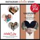 Instagram Story Templates - Valentine - GraphicRiver Item for Sale