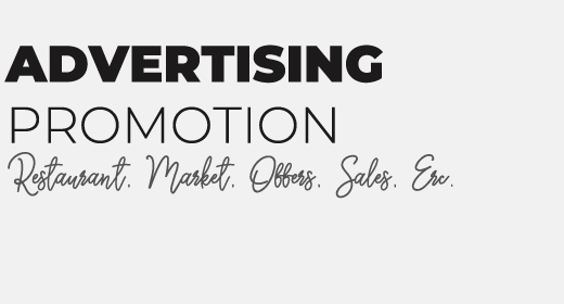 Advertising - Promotion