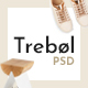 Trebol - Minimal & Modern Multi-Concept PSD Template - ThemeForest Item for Sale