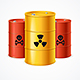 Realistic Detailed Radioactive Waste Barrels Set - GraphicRiver Item for Sale