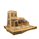 Low Poly Egypt House - 3DOcean Item for Sale
