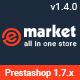 eMarket - Premium Responsive PrestaShop 1.7 Theme - ThemeForest Item for Sale