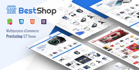 BestShop - Responsive PrestaShop 1.7 Digital/Furniture Store Theme