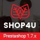 Shop4U - Store PrestaShop 1.7 eCommerce Theme - ThemeForest Item for Sale