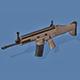 Fn Scar Gun - 3DOcean Item for Sale