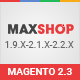 Maxshop - Premium Magento 2 and 1.9 Store Theme