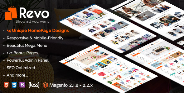 Revo - Responsive Magento 2 Shopping Theme - Shopping Magento