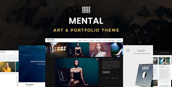 Mental — Art & Portfolio WordPress Theme