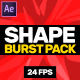 Shape Burst Pack - VideoHive Item for Sale