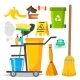 Cleaning Items Vector - GraphicRiver Item for Sale