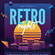 Retro Night 80s Event Flyer - GraphicRiver Item for Sale
