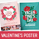 Valentine's Day Poster / Flyer - GraphicRiver Item for Sale