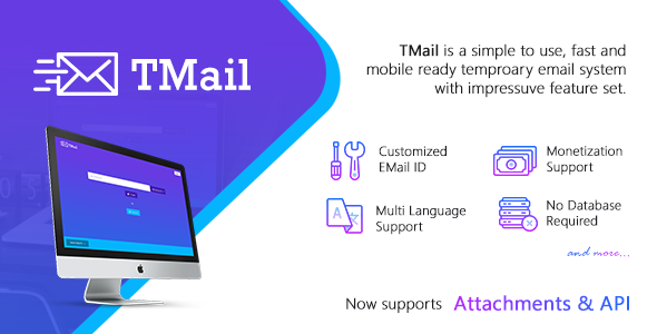 TMail v2.1 – Multi Domain Temporary Email System
