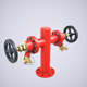 Fire Hydrant Double - 3DOcean Item for Sale