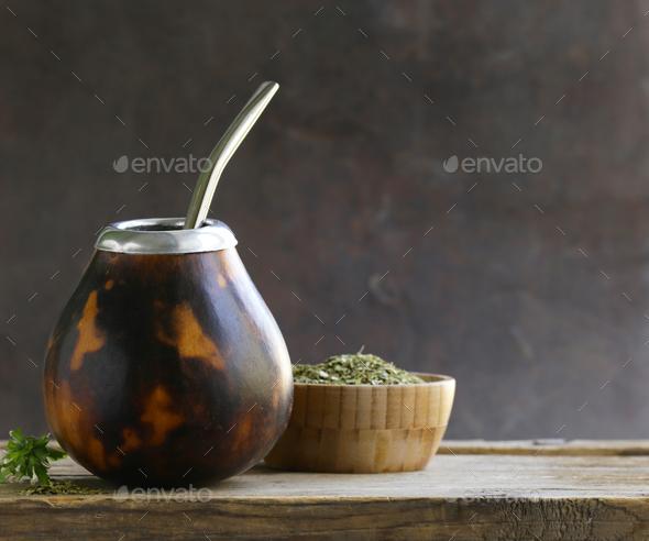 Traditional Yerba Mate Tea - Stock Photo - Images