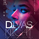 Divas Night Party Flyer - GraphicRiver Item for Sale