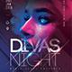 Divas Night Party Flyer - GraphicRiver Item for Sale