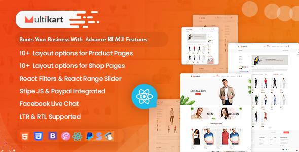 Multikart – Responsive React eCommerce Template   Bootstrap4