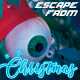 Escape From Christmas 80's Sci-Fi Themed Holidays Poster - GraphicRiver Item for Sale