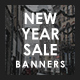 New Year Sale Banner Set - GraphicRiver Item for Sale