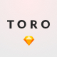 TORO - Clean, Minimal e-Commerce UI Kit - ThemeForest Item for Sale