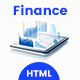Finance Responsive HTML Template - ThemeForest Item for Sale
