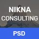 NIKNA – Business Consulting Template - ThemeForest Item for Sale