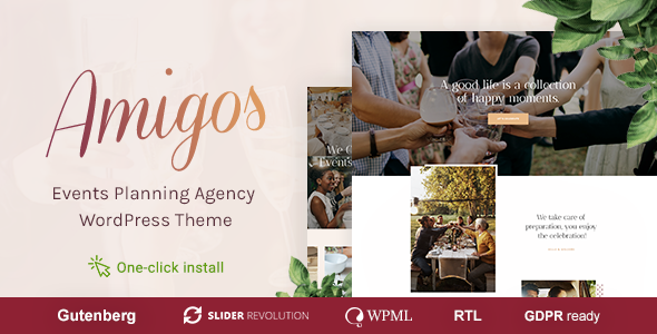 Amigos - Party & Celebration Event Agency - Events Entertainment