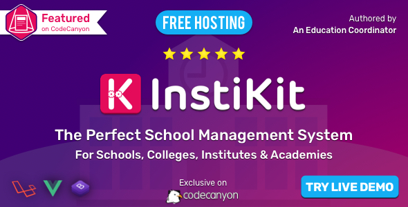 InstiKit School - School Management System for School, College, Institute and Academy - CodeCanyon Item for Sale