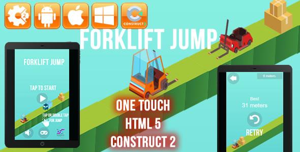 Forklift Jump - HTML5 Game (CAPX)