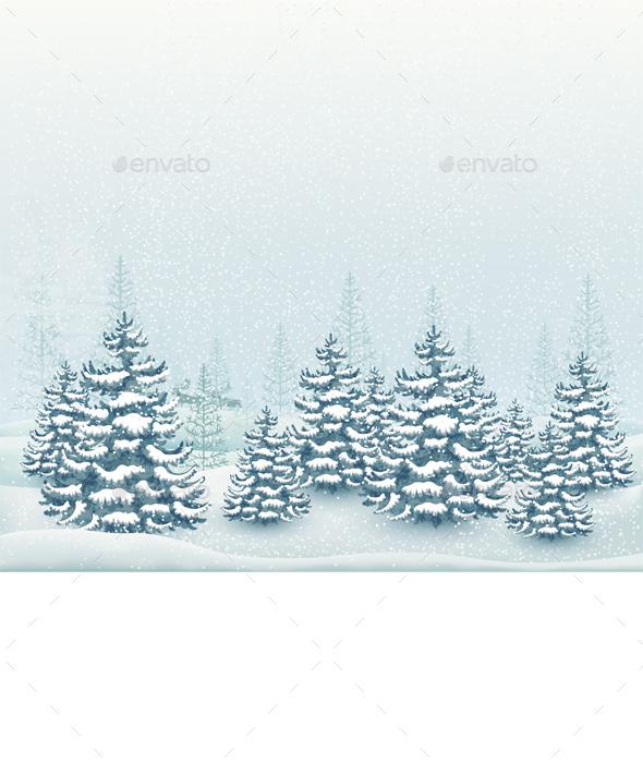 Forest Winter Landscape