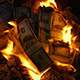 Dollar Stacks Burning On Fire - VideoHive Item for Sale