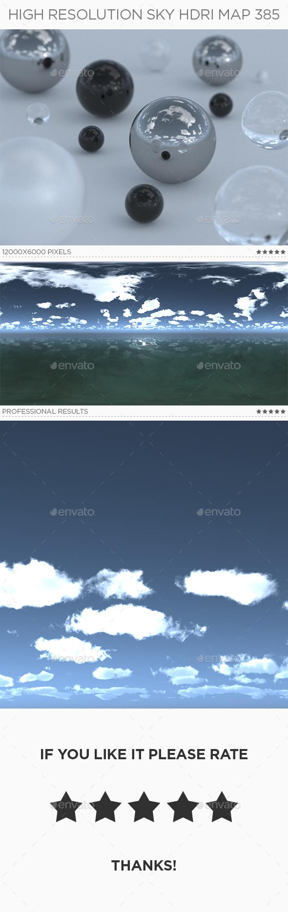 High Resolution Sky HDRi Map 385 - 3DOcean Item for Sale
