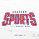 Houston Sports Font Family - GraphicRiver Item for Sale