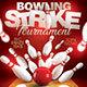 Bowling Strike Tournament - GraphicRiver Item for Sale