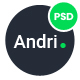 Andri - Multi-Purpose Business PSD Template - ThemeForest Item for Sale
