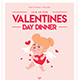 Valentines Day Dinner flyer - GraphicRiver Item for Sale