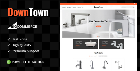 Down Town - Multipurpose Stencil BigCommerce Theme