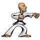 Martial Arts Karate Guy Cartoon Vector Illustration - GraphicRiver Item for Sale