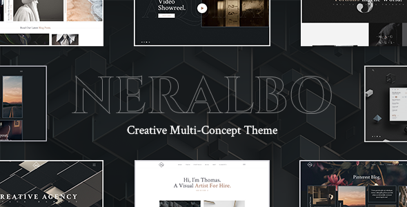 Neralbo - Creative Multi-concept Theme - Creative WordPress