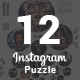 Instagram Puzzle Templates - GraphicRiver Item for Sale