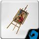 Art Canvas in studio - GraphicRiver Item for Sale