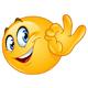 Ok Sign Emoji - GraphicRiver Item for Sale
