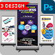 Multipurpose Roll Up Banner 3 In 1 - GraphicRiver Item for Sale