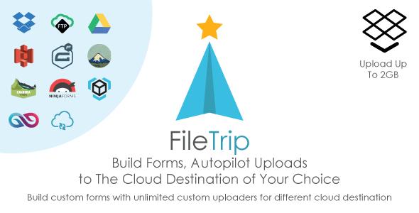 Filetrip | Easily upload to Dropbox + Google Drive + S3 + Wordpress - CodeCanyon Item for Sale