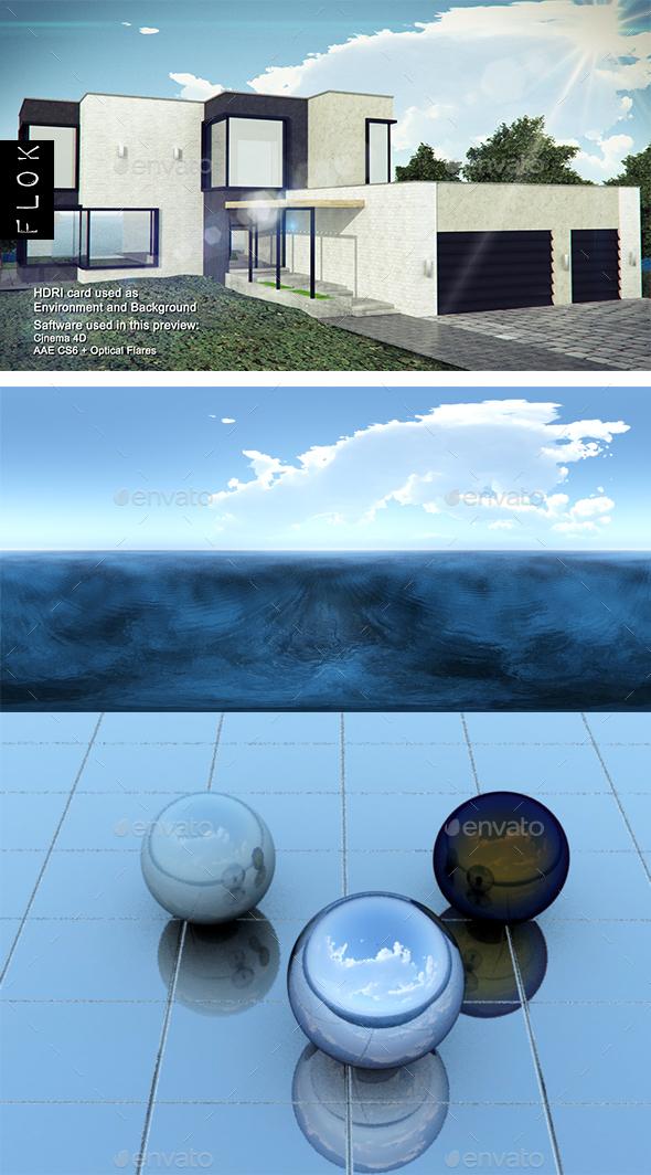Daylight Sea 17 - 3DOcean Item for Sale