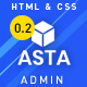 Asta – Bootstrap 4 Responsive Admin HTML5 Dashboard Template - ThemeForest Item for Sale